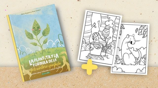 La plantita y la fórmula de la fotosíntesis perfecta en papel (ES) + láminas