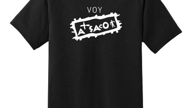 Camiseta de Voy A Saco + Visionado del documental online + agradecimientos en créditos