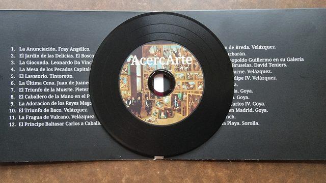 Dedicated CD + AcercArte Headphones.