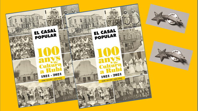 Llibre CASAL POPULAR 1921-2021.