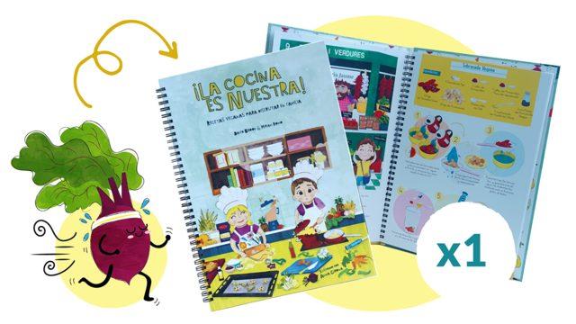 SUPER EARLY BIRDS: 1 Libro de ¡La cocina es nuestra!