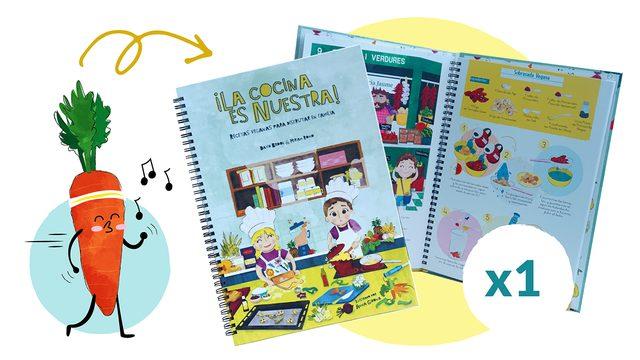EARLY BIRDS: 1 Libro de ¡La cocina es nuestra!