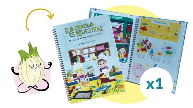 1 Libro de ¡La cocina es nuestra!