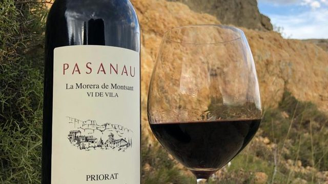 Wine from Priorat special for the Navigator