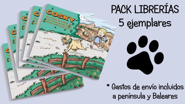 Jauría: Pack de 5 libros para librerías (Recompensa exclusiva para librerías).