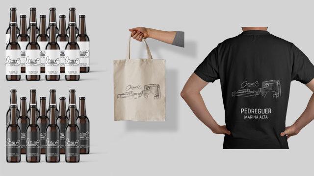 Paquet 24 cerveses 12 Ocaive Rubia y 12 Ocaive Torrada - Marina Alta