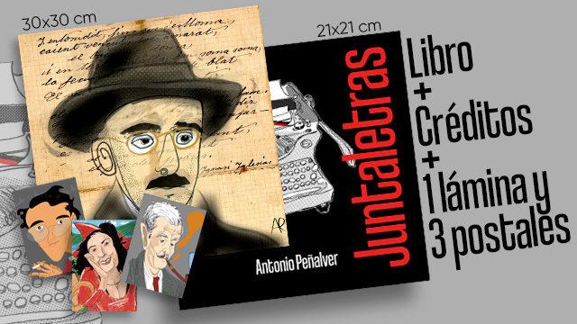 Libro + Lámina + Postales + Créditos