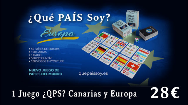 1 Juego ¿QPS? CANARIAS y EUROPA*