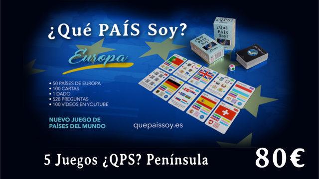 5 Juegos ¿QPS? PENÍNSULA