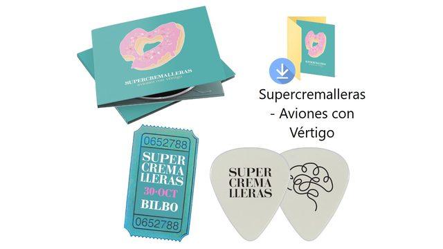Pack CD + Descarga + Púa + Entrada