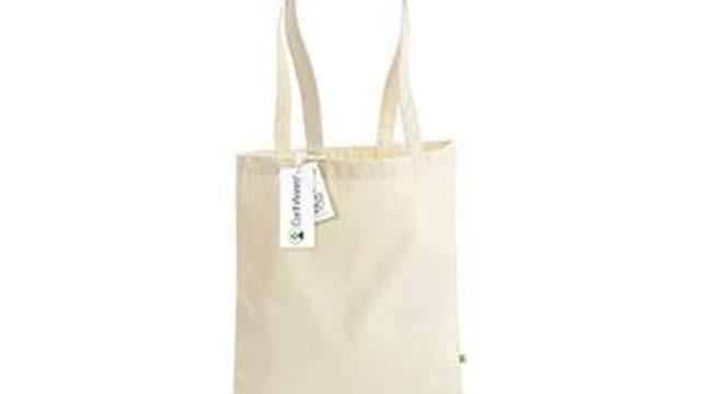 Bolsa de tela algodón orgánico pintada a mano+lámina tamaño A5