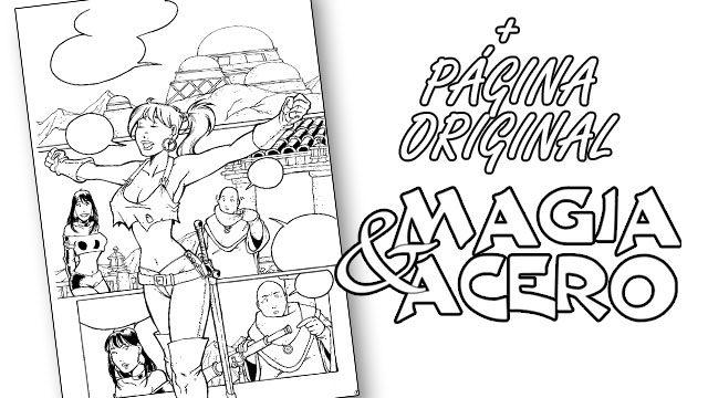 Magia&Acero: La Página Original.