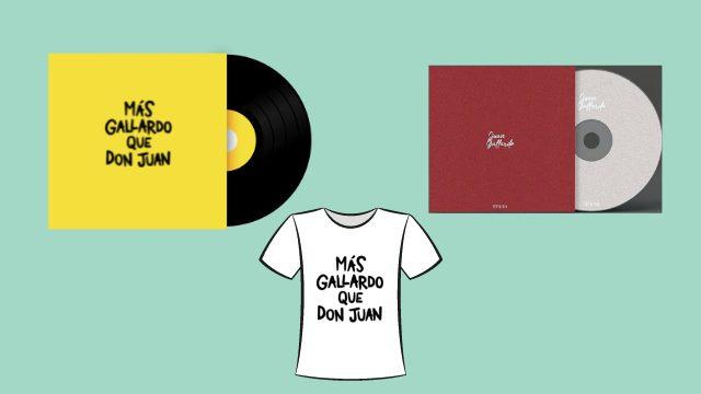 Disco + mis inicios + camiseta