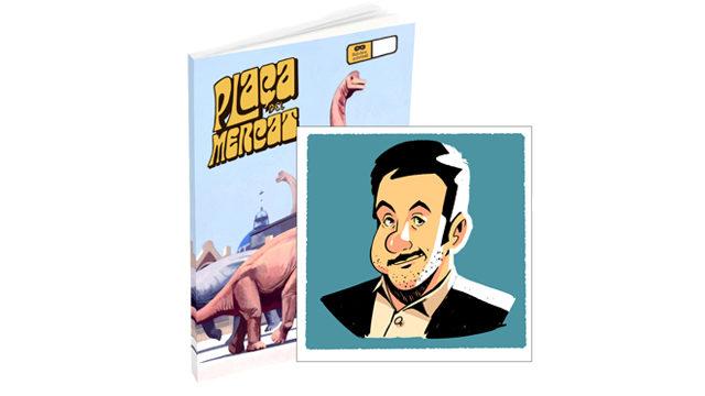 Plaça del Mercat nº4 + caricatura