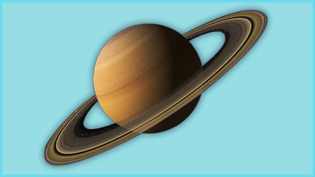 L'empenta a un nou horitzó, Saturn