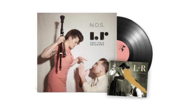 Vinilos N.O.S. + CD post-folk-asturianu