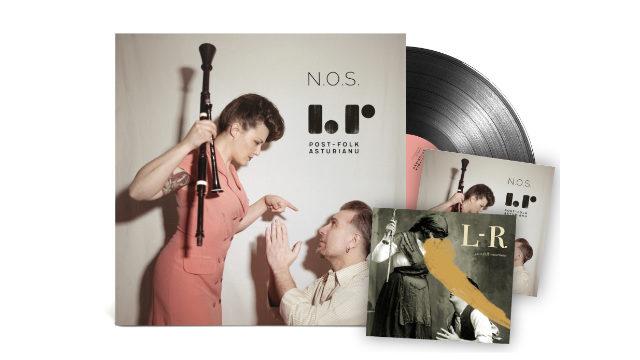 Vinilo N.O.S. + CD N.O.S & CD post-folk-asturianu