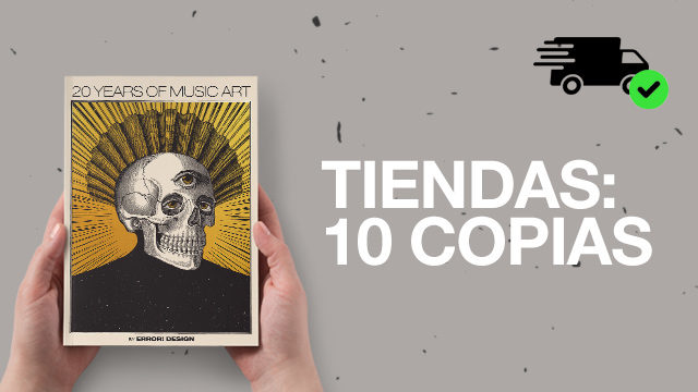 FOR BOOK/ART STORES: 10