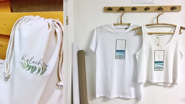 Camiseta con Diseño a elegir + Packaging Helechizo + Envío