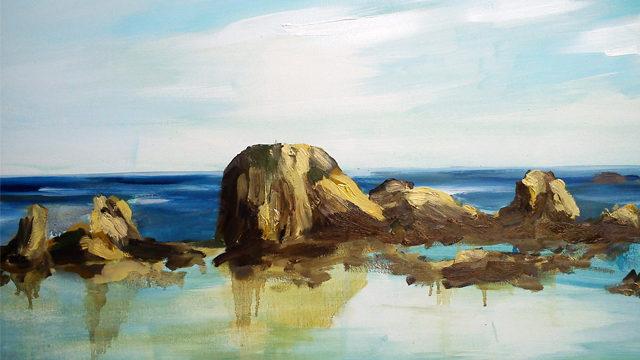 Obra original de formato medio pintada al óleo