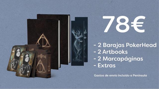 2 Barajas PokerHead + 2 Artbooks