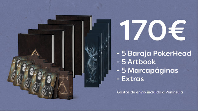 x5 Barajas PokerHead + x5 Artbooks