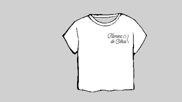 Camiseta Flamenco de Cerca