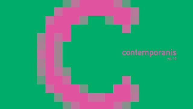 """CD """"Contemporanis 10"""" amb autògraf de tots els components de la Contemporània"""