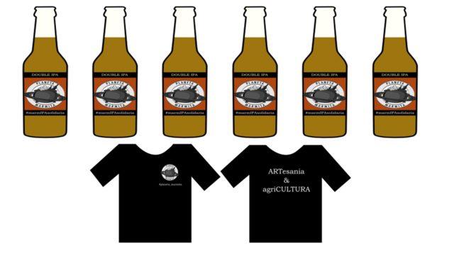 6 cervezas IPA + camiseta
