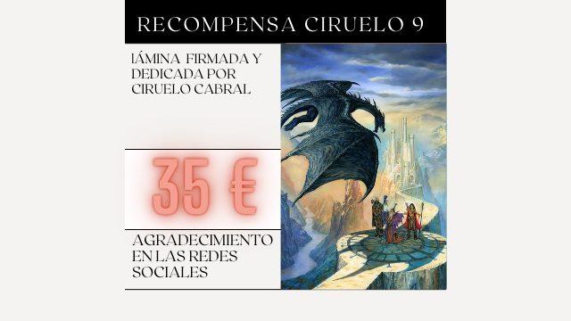 Recompensa Ciruelo 9