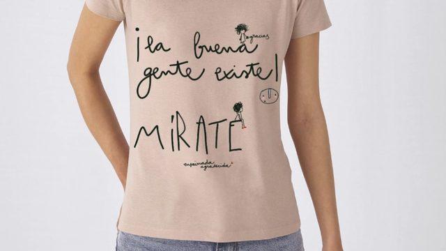 Camiseta algodón AGRADECIMIENTO