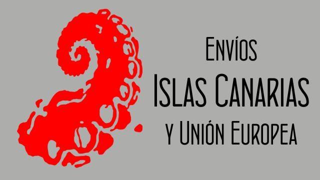 Gastos de envío para Canarias y la Unión Europea