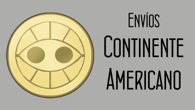 Gastos de envío para el continente americano