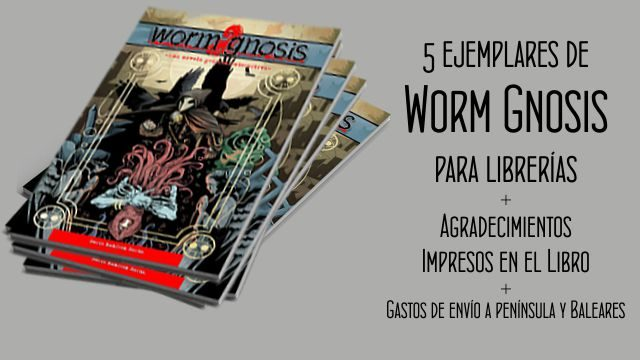 Secta: Pack de 5 cómics Worm Gnosis exclusivo para librerías y asociaciones.