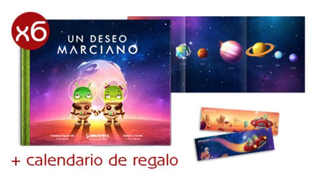 Pack Librería marciano