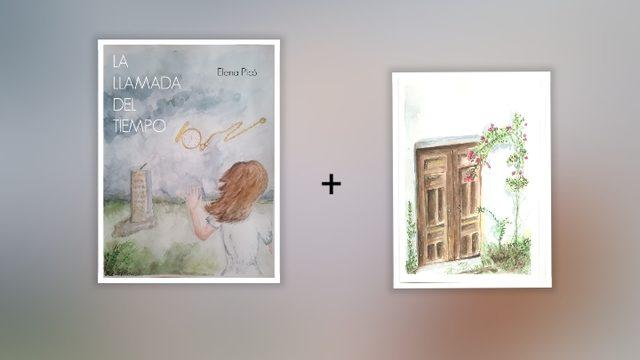 """Libro + lámina """"puerta"""""""