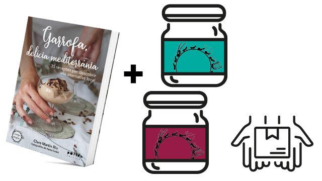 Llibre + lot 2 productes Menjamiques + enviament