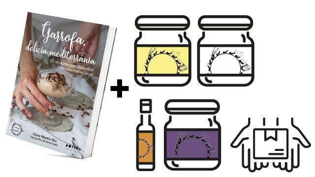 Llibre + 4 productes Menjamiques + enviament