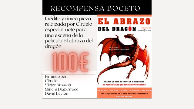 Recompensa Boceto