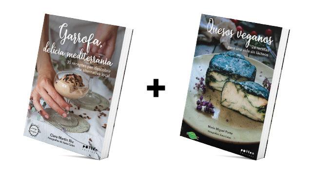 Llibre Garrofa + Llibre formatges vegans