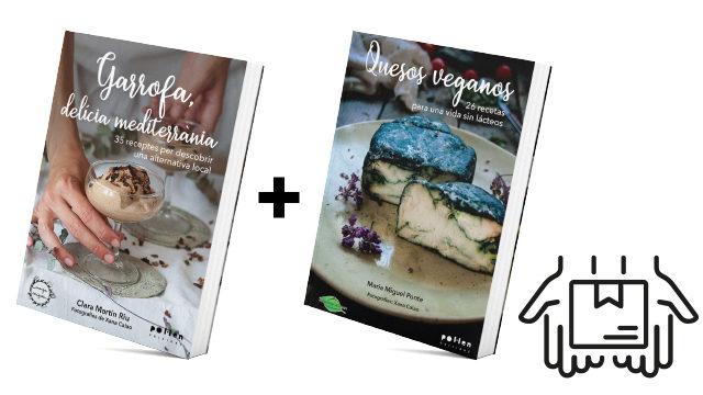 Llibre Garrofa + Llibre formatges vegans + enviament