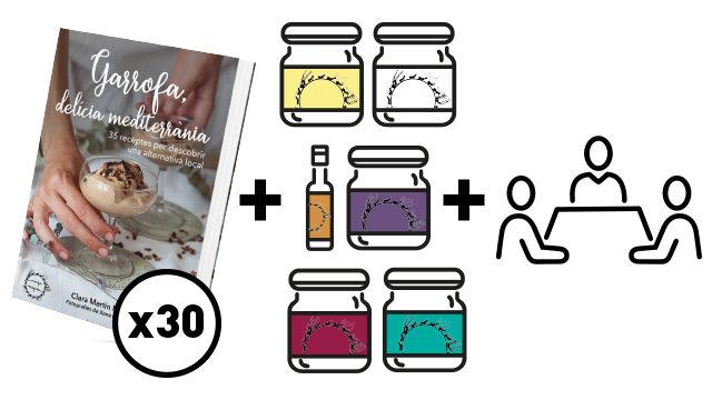 Solidària 30 llibres + lot + presentació