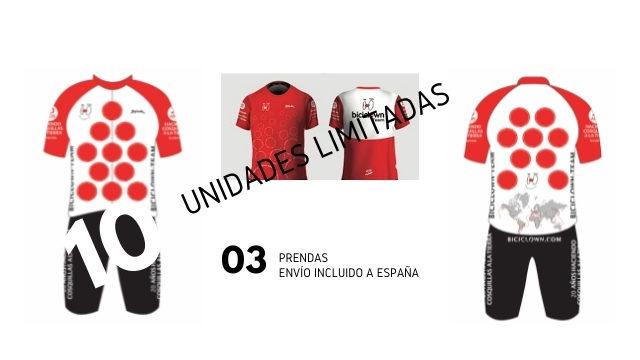 Toda la equipación Biciclown Team (OFERTA EXPRESS)