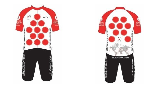 Maillot y Culote Biciclown Team