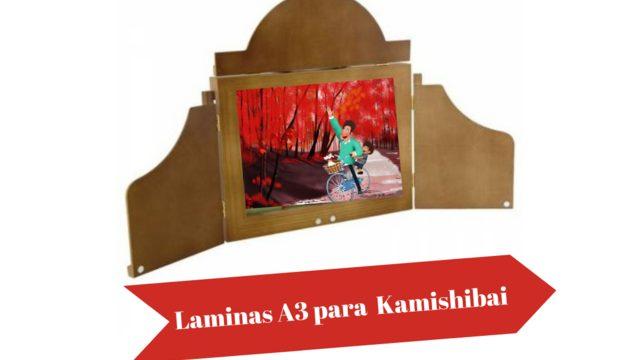 Laminas A3 para Kamishibai