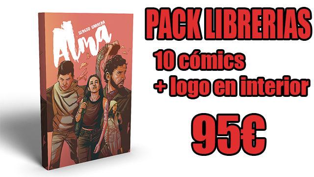 PACK LIBRERIAS: comic x10