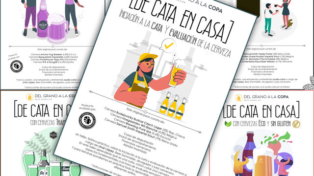 Pack con audio-cata + Pack con vídeo-taller