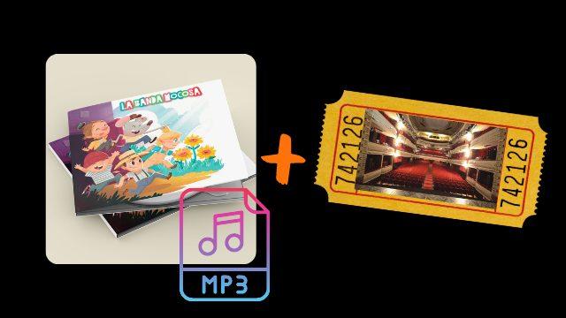 """Entrada """"Concierto presentación"""" + descarga ONLINE"""