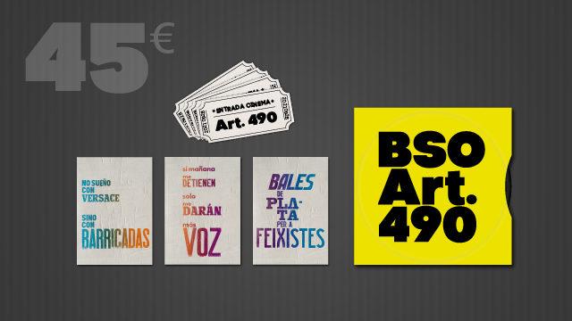 4 entrades o visionat on-line, postals censurades, BSO Art.490 i crèdits