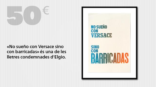 "Entrada o visionat on-line i cartell de sèrie limitada: ""No sueño con Versace"""